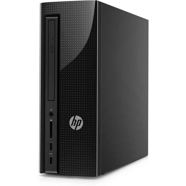 HP Y4J56EA#ABU Desktop Pc in Jack Black