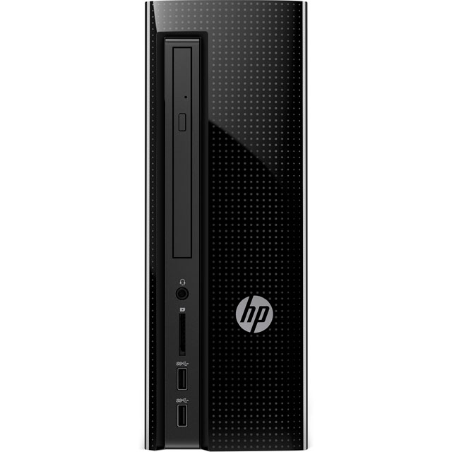 HP Z3J04EA#ABU Desktop Pc in Jack Black