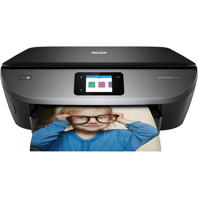 HP Envy Photo 7130 Printer - Black