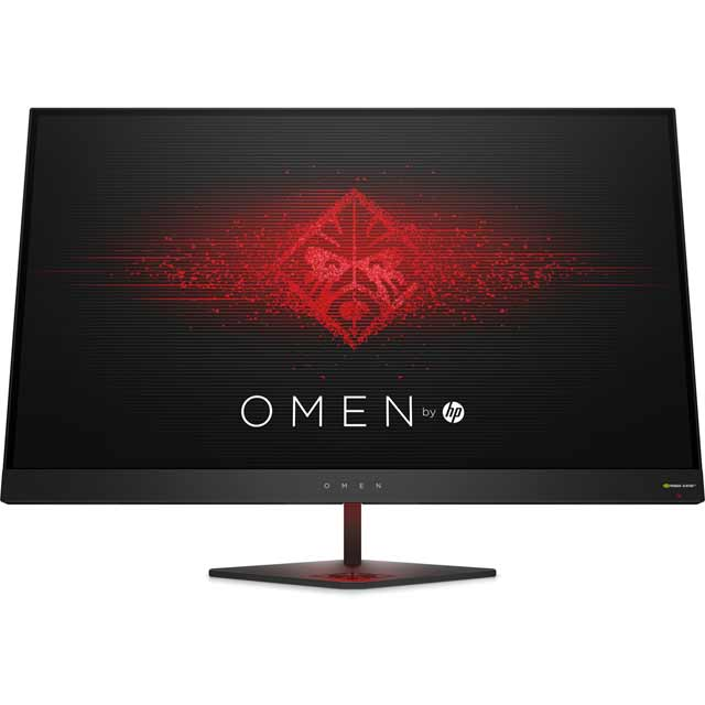 "HP OMEN Quad HD 27"" 165Hz Gaming Monitor with NVidia G-Sync - Black - Z4D33AA#ABU - 1"