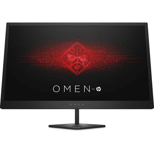 "HP OMEN Full HD 24.5"" 144Hz Gaming Monitor with AMD FreeSync - Black - Z7Y57AA#ABU - 1"
