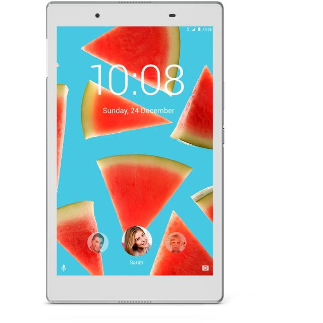 "Lenovo 8"" 16GB Wifi Tablet - White"