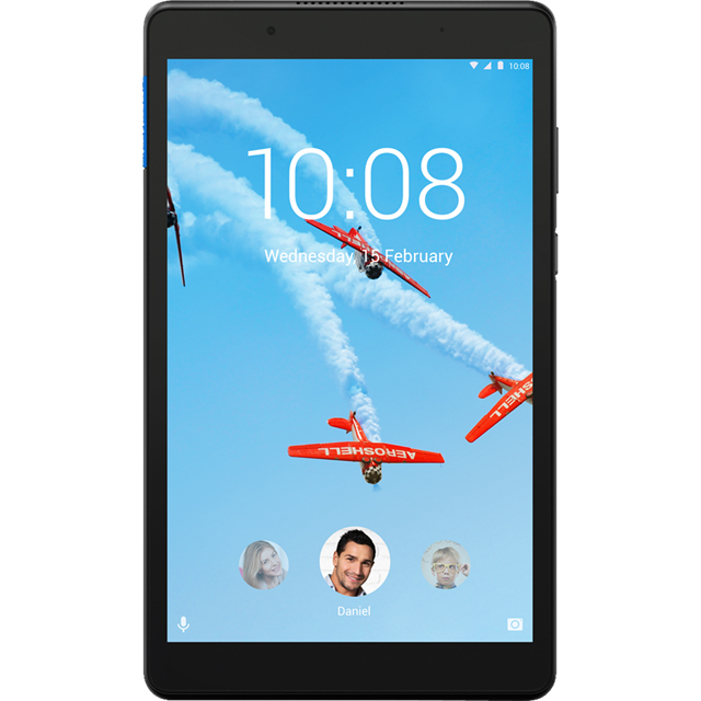 "Lenovo Tab E8 8"" 16GB Wifi Tablet - Black - ZA3W0029GB - 1"