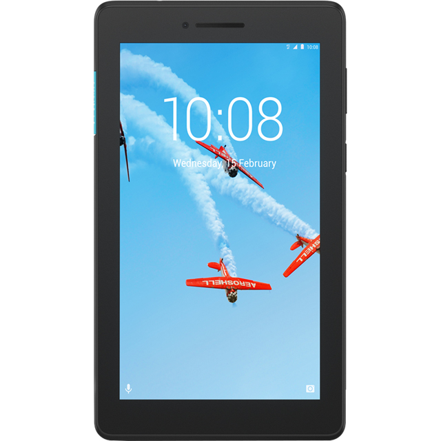 "Lenovo TAB E7 7"" 16GB Wifi Tablet - Black - ZA400059GB - 1"