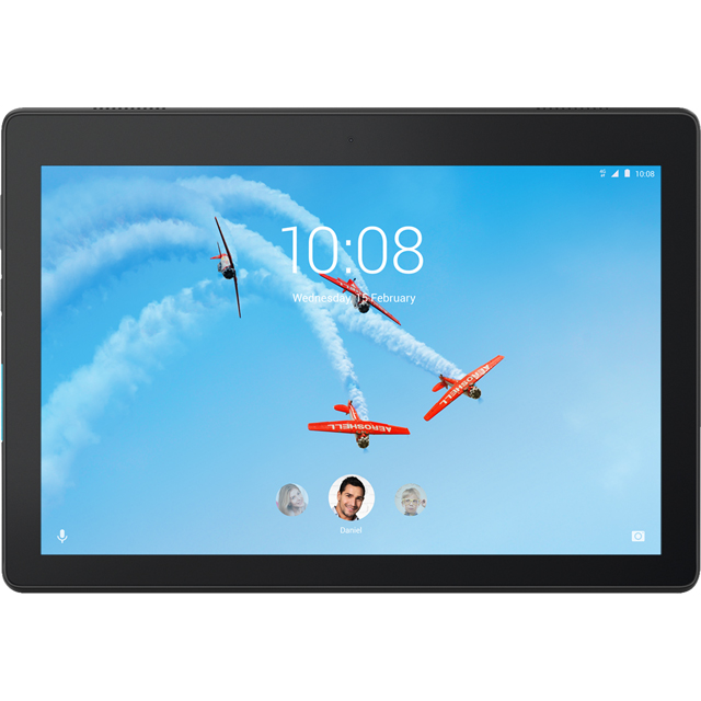 "Lenovo Tab E10 10.1"" 32GB Wifi Tablet - Black - ZA470061GB - 1"