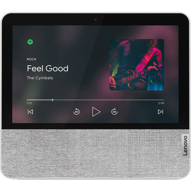 "Lenovo Smart Display with Google Assistant - 7"" Screen - Grey"