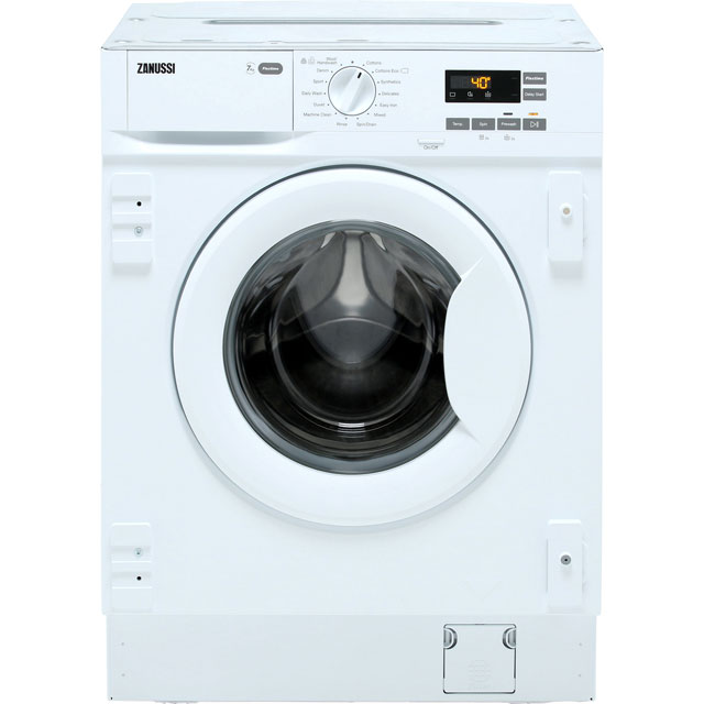 Zanussi Z714W43BI Integrated 7Kg Washing Machine with 1400 rpm - A+++ Rated