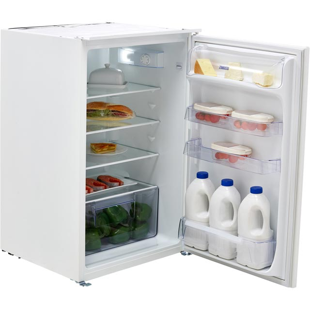 Zanussi ZBA15021SV Built In Fridge - White - ZBA15021SV_WH - 1