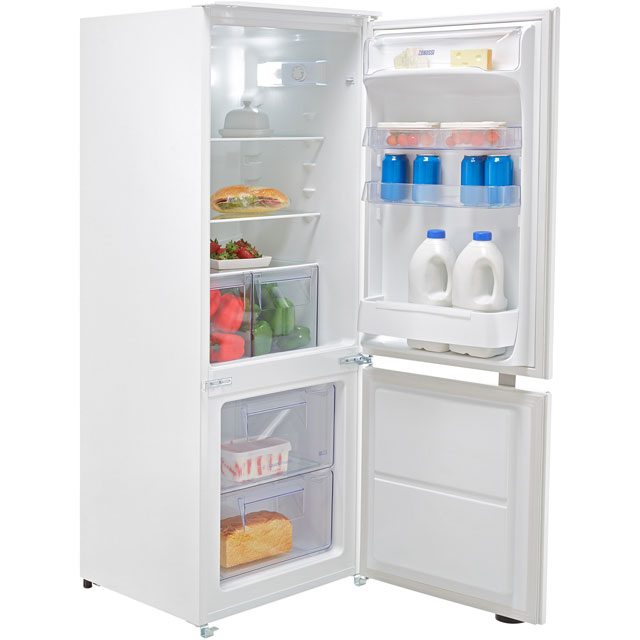 Zanussi Integrated Fridge Freezer in White