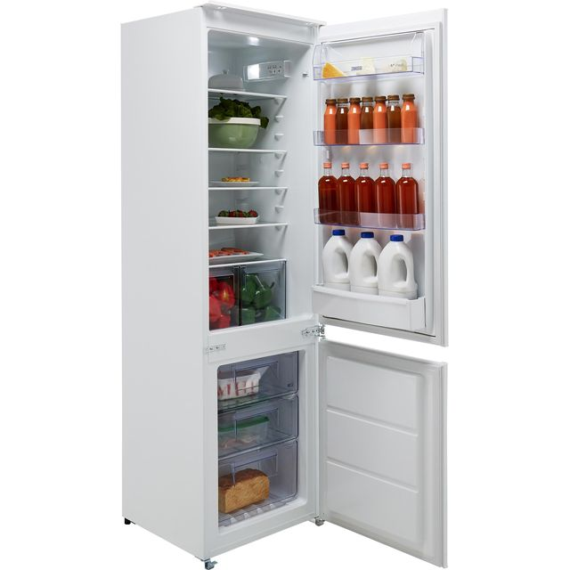 Zanussi ZBB28651SV Built In Fridge Freezer - White - ZBB28651SV_WH - 1