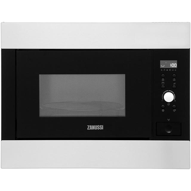 Zanussi ZBG26642XA Built In Microwave with Grill - Stainless Steel - ZBG26642XA_SS - 1