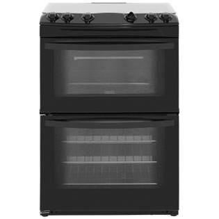 Zanussi ZCG63010BA Freestanding Gas Cooker - Black