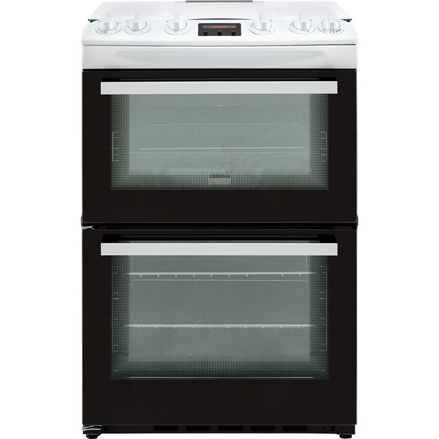 Zanussi ZCG63250WA 60cm Gas Cooker with Full Width Electric Grill