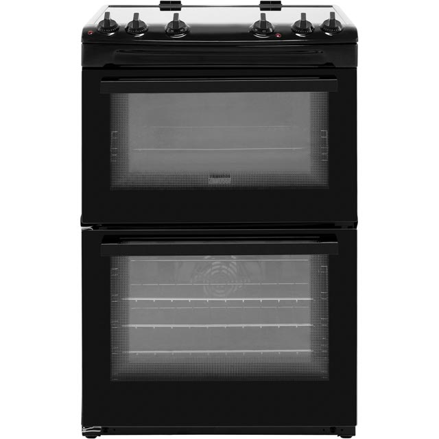 Zanussi Electric Cooker with Induction Hob - Black - A/A Rated