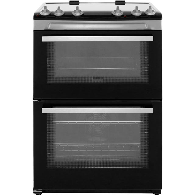 Zanussi Electric Cooker with Induction Hob - Stainless Steel - A/A Rated