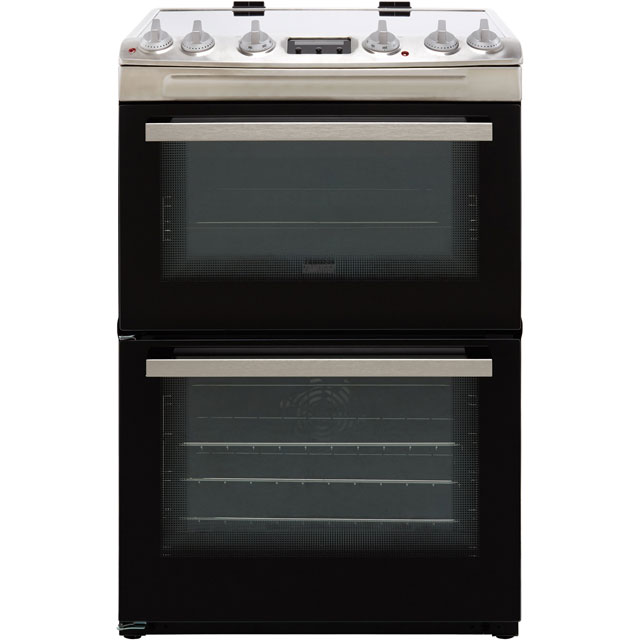 Zanussi ZCI66250XA 60cm Electric Cooker with Induction Hob - Stainless Steel - A/A Rated