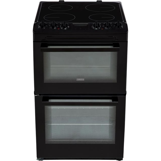 Zanussi ZCV46250BA Electric Cooker - Black - ZCV46250BA_BK - 5