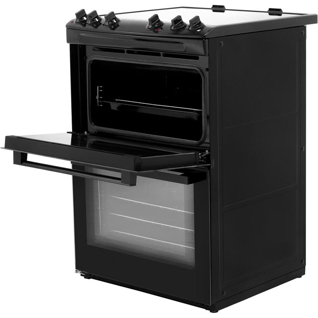 Zanussi ZCV66050BA Electric Cooker - Black - ZCV66050BA_BK - 4