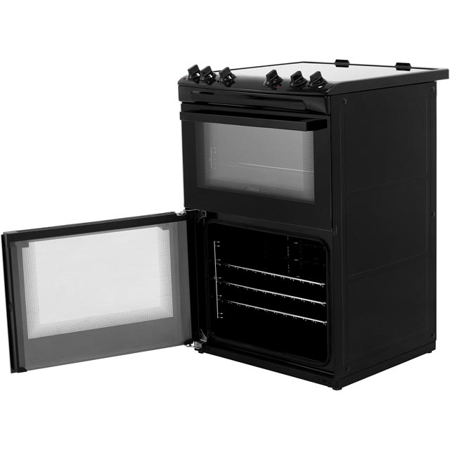 Zanussi ZCV66050BA Electric Cooker - Black - ZCV66050BA_BK - 5
