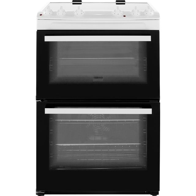 Zanussi ZCV66050WA Electric Cooker - White - ZCV66050WA_WH - 1
