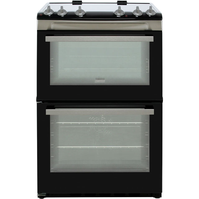 Zanussi Electric Cooker with Ceramic Hob - Stainless Steel - A/A Rated
