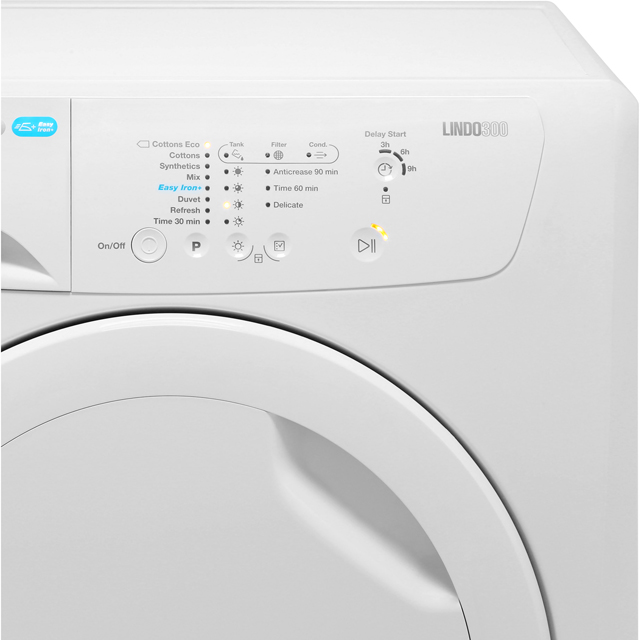 Zanussi Lindo300 ZDC8202PZ 8Kg Condenser Tumble Dryer - White - B Rated - ZDC8202PZ_WH - 3