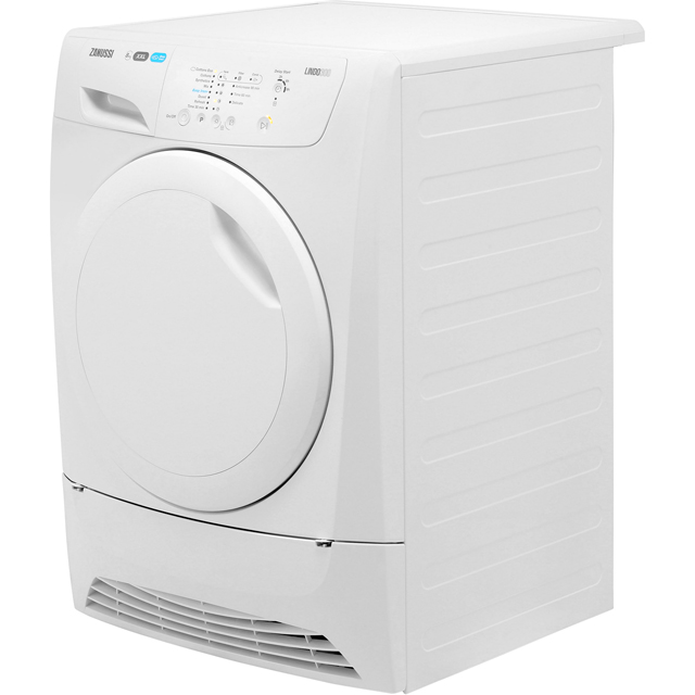 Zanussi Lindo300 ZDC8202PZ 8Kg Condenser Tumble Dryer - White - B Rated - ZDC8202PZ_WH - 5