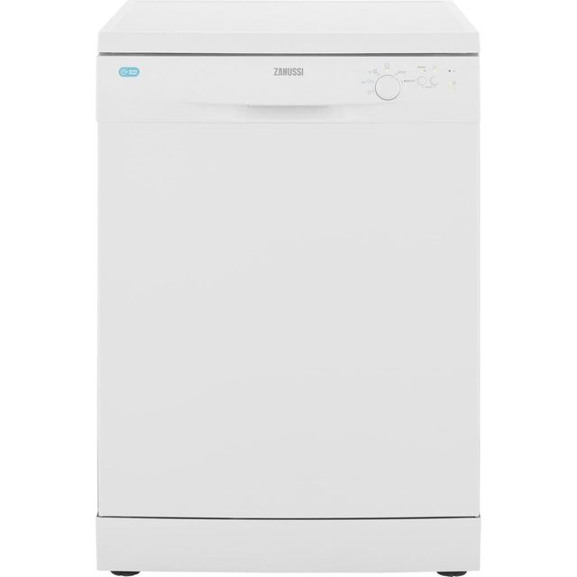 Zanussi ZDF22002WA Standard Dishwasher - White - A+ Rated - ZDF22002WA_WH - 1