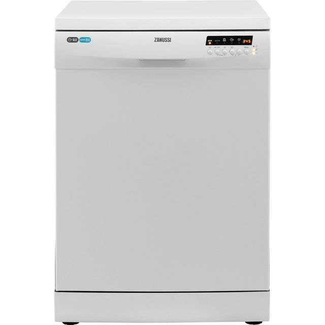 Zanussi ZDF26004WA Standard Dishwasher - White - A+ Rated - ZDF26004WA_WH - 1