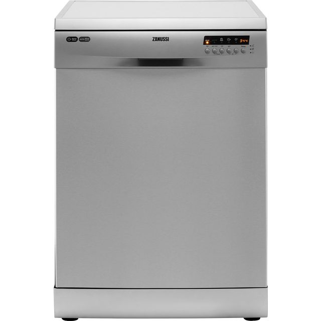 Zanussi Standard Dishwasher - Stainless Steel - A+ Rated