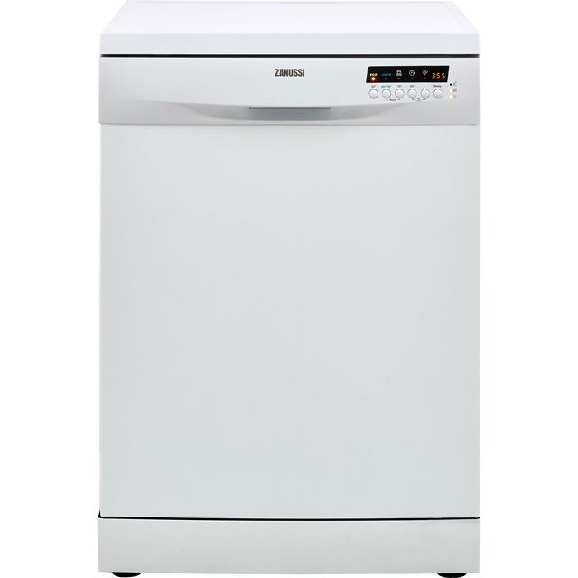 Zanussi ZDF36001WA Standard Dishwasher - White - A++ Rated - ZDF36001WA_WH - 1