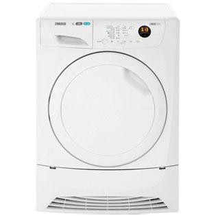 Zanussi Lindo1000 Free Standing Condenser Tumble Dryer in White