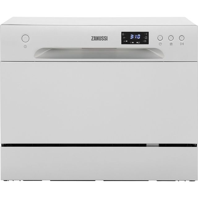 Zanussi ZDM17301SA Table Top Dishwasher - Silver - A+ Rated - ZDM17301SA_SI - 1