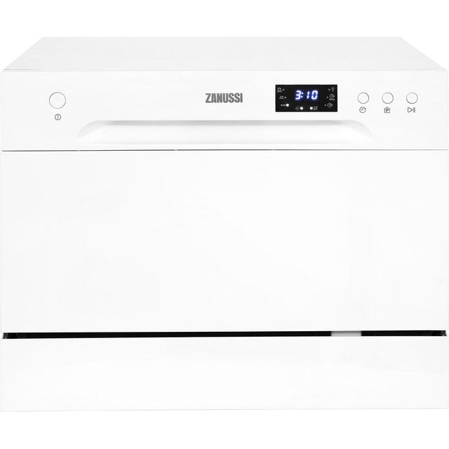 Zanussi ZDM17301WA Table Top Dishwasher - White - A+ Rated - ZDM17301WA_WH - 1
