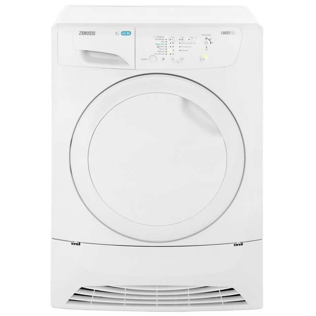 Zanussi ZDP7205PZ 7Kg Condenser Tumble Dryer - White - B Rated