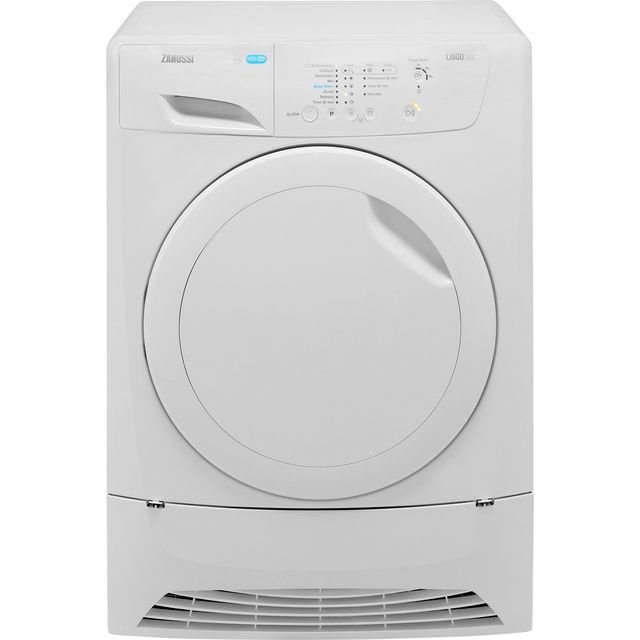 Zanussi Lindo100 ZDP7208PZ 7Kg Condenser Tumble Dryer - White - B Rated - ZDP7208PZ_WH - 1