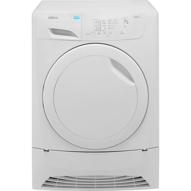 Zanussi Lindo100 ZDP7208PZ Free Standing Condenser Tumble Dryer in White