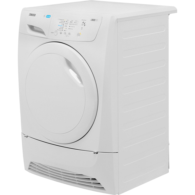 Zanussi Lindo100 ZDP7208PZ 7Kg Condenser Tumble Dryer - White - B Rated - ZDP7208PZ_WH - 5