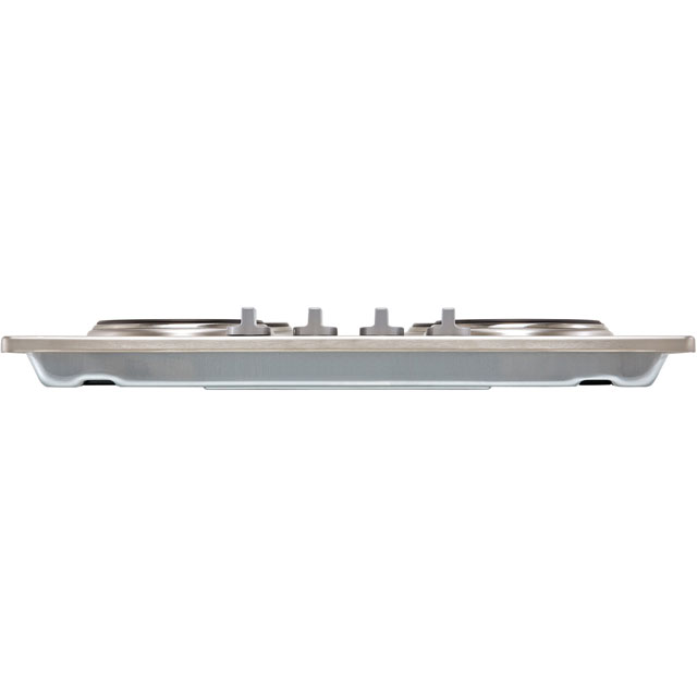 Zanussi ZEE6942FXS Built In Solid Plate Hob - Stainless Steel - ZEE6942FXS_SS - 5