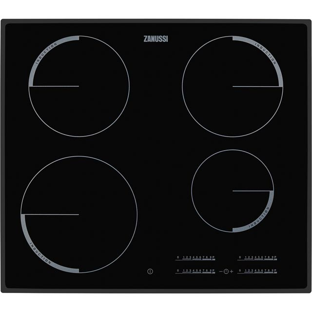 Zanussi 59cm Induction Hob - Black