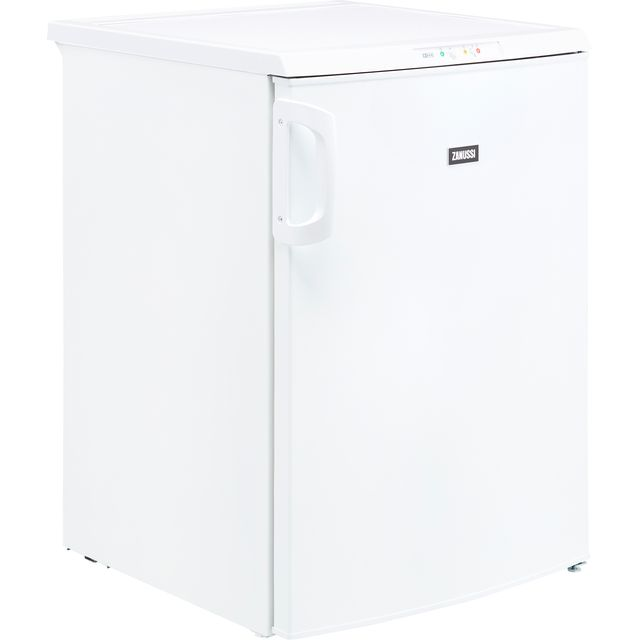 Zanussi ZFT10210WV Frost Free Under Counter Freezer - White - A+ Rated - ZFT10210WV_WH - 1
