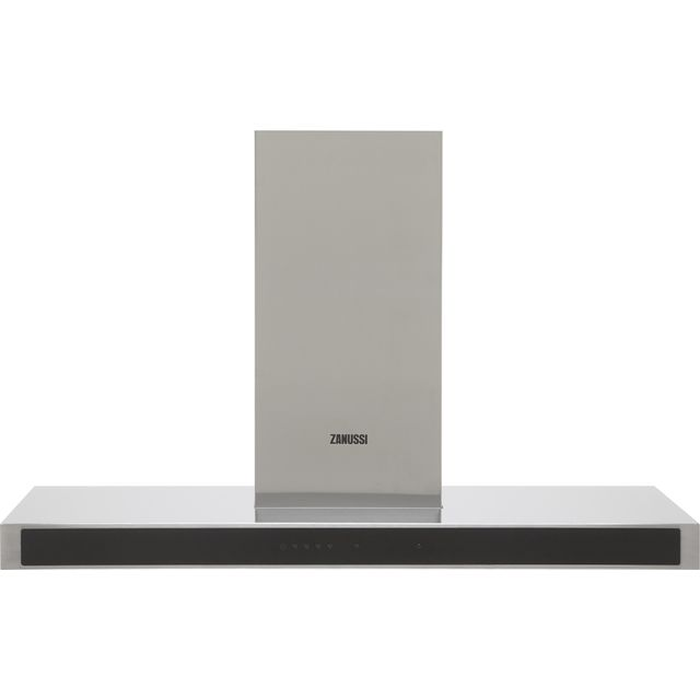 Zanussi ZFT919Y 90 cm Chimney Cooker Hood - Stainless Steel - C Rated
