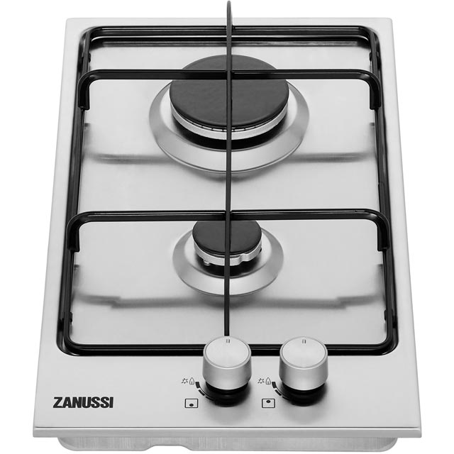 Zanussi ZGG35214XS Built In Gas Hob - Stainless Steel - ZGG35214XS_SS - 4