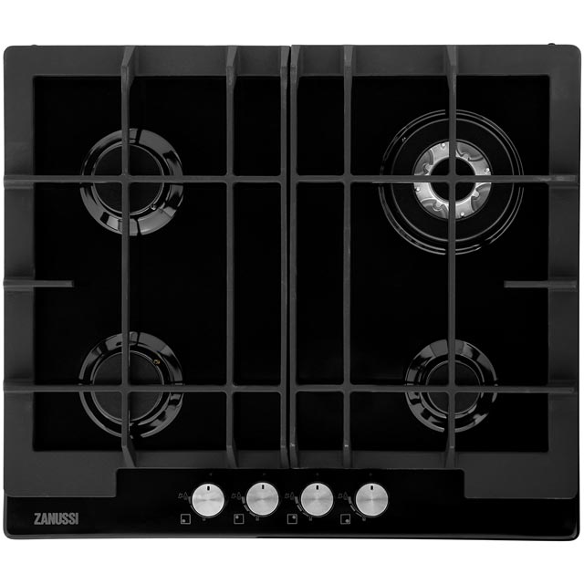 Zanussi ZGG66424BB Integrated Gas Hob in Black