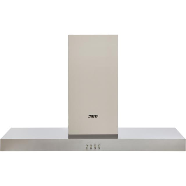 Zanussi ZHB92670XA Built In Chimney Cooker Hood - Stainless Steel - ZHB92670XA_SS - 1