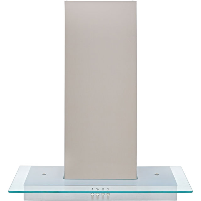 Zanussi ZHC62653XA 60 cm Chimney Cooker Hood - Stainless Steel - C Rated - ZHC62653XA_SS - 1