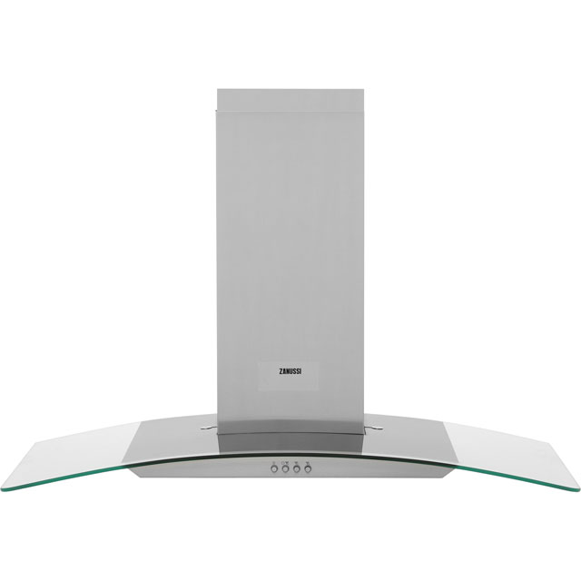 Zanussi ZHC9234X 90 cm Chimney Cooker Hood - Stainless Steel
