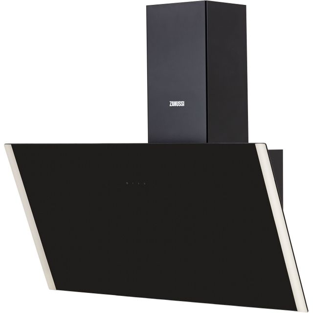 Zanussi ZHV94750BA Built In Chimney Cooker Hood - Black Glass - ZHV94750BA_BKG - 1
