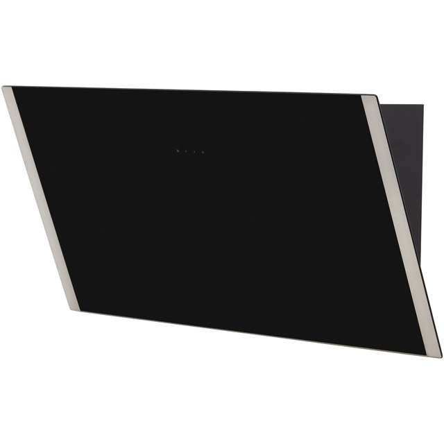 Zanussi ZHV94750BA 90 cm Chimney Cooker Hood - Black Glass - ZHV94750BA_BKG - 4