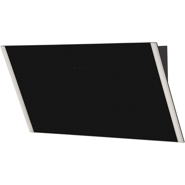 Zanussi ZHV94750BA 90 cm Chimney Cooker Hood - Black Glass - ZHV94750BA_BKG - 5